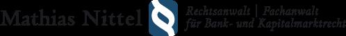 Logo Nittel | Rechtsanwalt | Fachanwalt für Bank und Kapitalmarktrecht